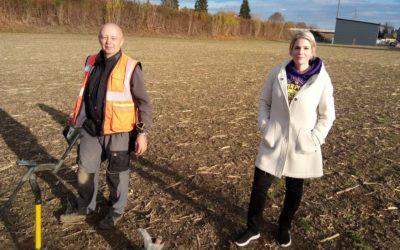 Zeugen der Vergangenheit: Zwei Hobby-Archäologen aus der Region Wil bergen Fundstücke