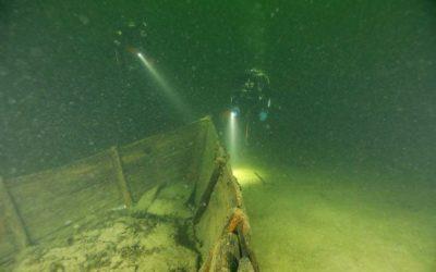Schiffswrack in Männedorf